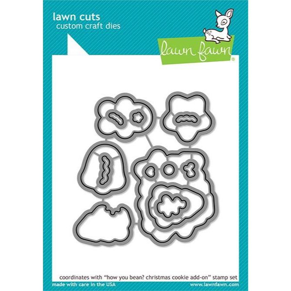 How You Bean? Christmas Cookie Add-On, Lawn Cuts Dies - 035292673342