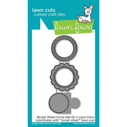 Reveal Wheel Circle Add-On, Lawn Cuts Dies - 035292673502