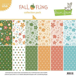 Fall Fling, Lawn Fawn Collection Pack - 035292673762