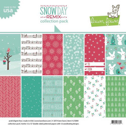 Snow Day Remix, Lawn Fawn Collection Pack - 035292673847