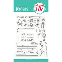 Cocoa Stand, Avery Elle Clear Stamps - 811568027961