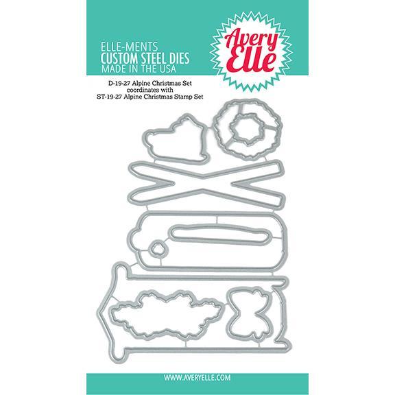 Alpine Christmas, Avery Elle-Ments Dies - 811568027909