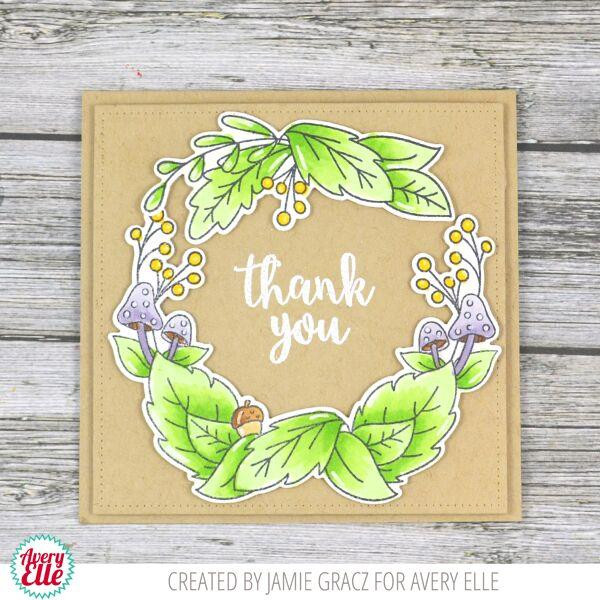 Fall Foliage, Avery Elle Clear Stamps - 811568028043