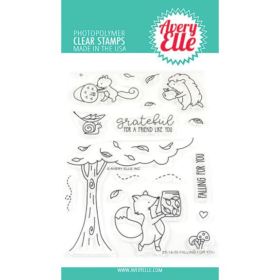 Falling For You, Avery Elle Clear Stamps - 811568028050