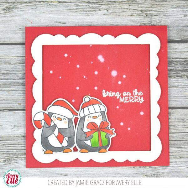 Polar Playtime, Avery Elle Clear Stamps - 811568028005