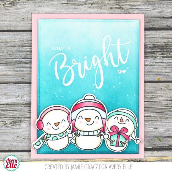 Simply Said: Bright, Avery Elle Clear Stamps - 811568027862