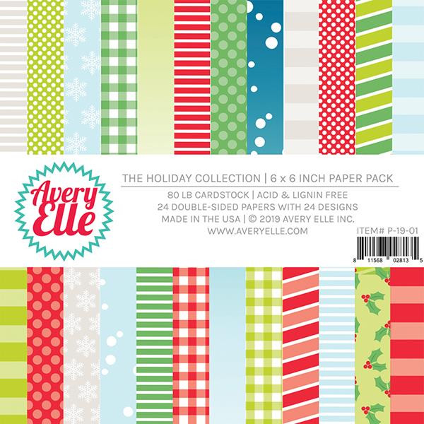 The Holiday Collection, Avery Elle Paper Pad - 811568028135