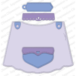 Apron, Impression Obsession Dies - 845638026905