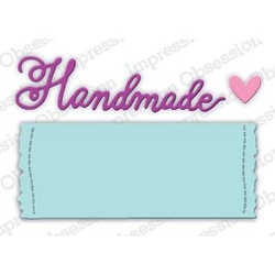 Handmade Label, Impression Obsession Dies - 845638027858