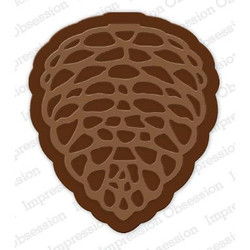 Large Pinecone, Impression Obsession Dies - 845638027889