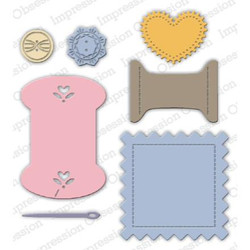 Sewing Accessories, Impression Obsession Dies - 845638027988