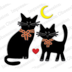 Two Kitties, Impression Obsession Dies - 845638028039