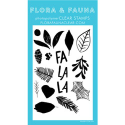 Brush Poinsettia, Flora & Fauna Clear Stamps - 725835782869