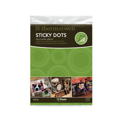 Sticky Dots Small Sheets, Thermoweb Adhesives - 000943040514