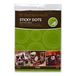 Sticky Dots Large Sheets, Thermoweb Adhesives - 000943040521