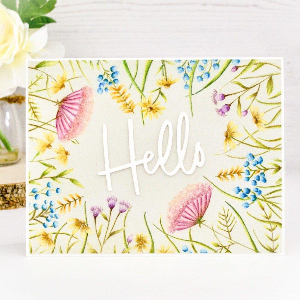 You Make A Difference, Hero Arts & Pinkfresh Studio Clear Stamps - 857009240926
