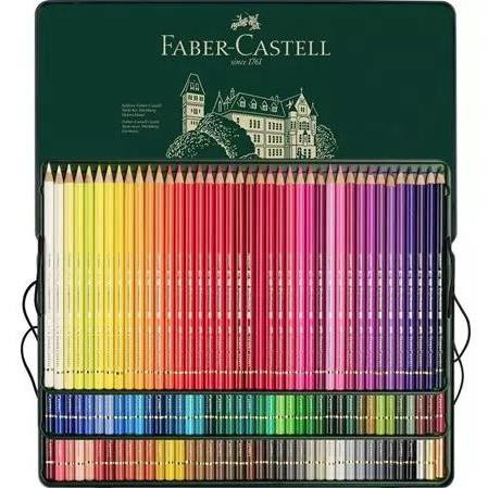 Polychromos Pencil Tin Set of 120, Faber-Castell - 4005401100119