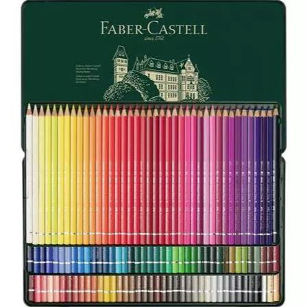 Albrecht Dürer Watercolor Pencil Tin Set of 120, Faber-Castell - 4005401175117