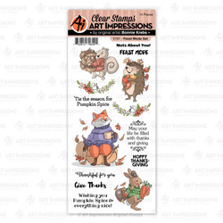 Feast Mode, Art Impressions Clear Stamps - 750810796401
