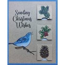 Joyful Songs, Inky Antics Clear Stamps -