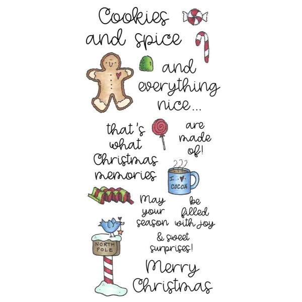 Cookies & Spice, Inky Antics Clear Stamps -