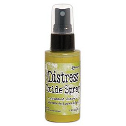 Crushed Olive, Ranger Distress Oxide Spray - 789541067641