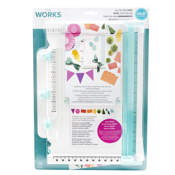 The Works All-In-One Tool, American Crafts - 633356605812