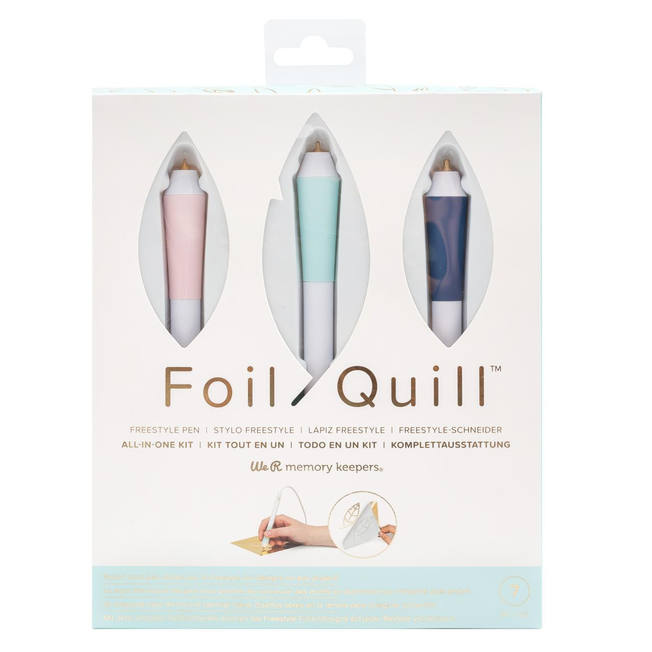 Foil Quill Freestyle Pen All-In-One Kit, American Crafts Tools - 633356610953