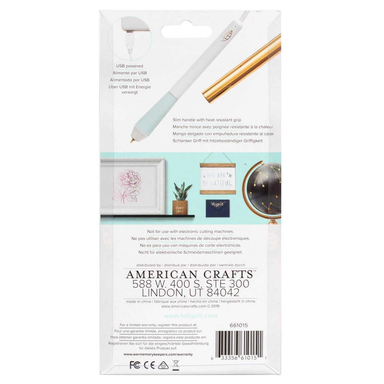 Foil Quill Freestyle Pen Standard Tip, American Crafts Tools - 633356610151