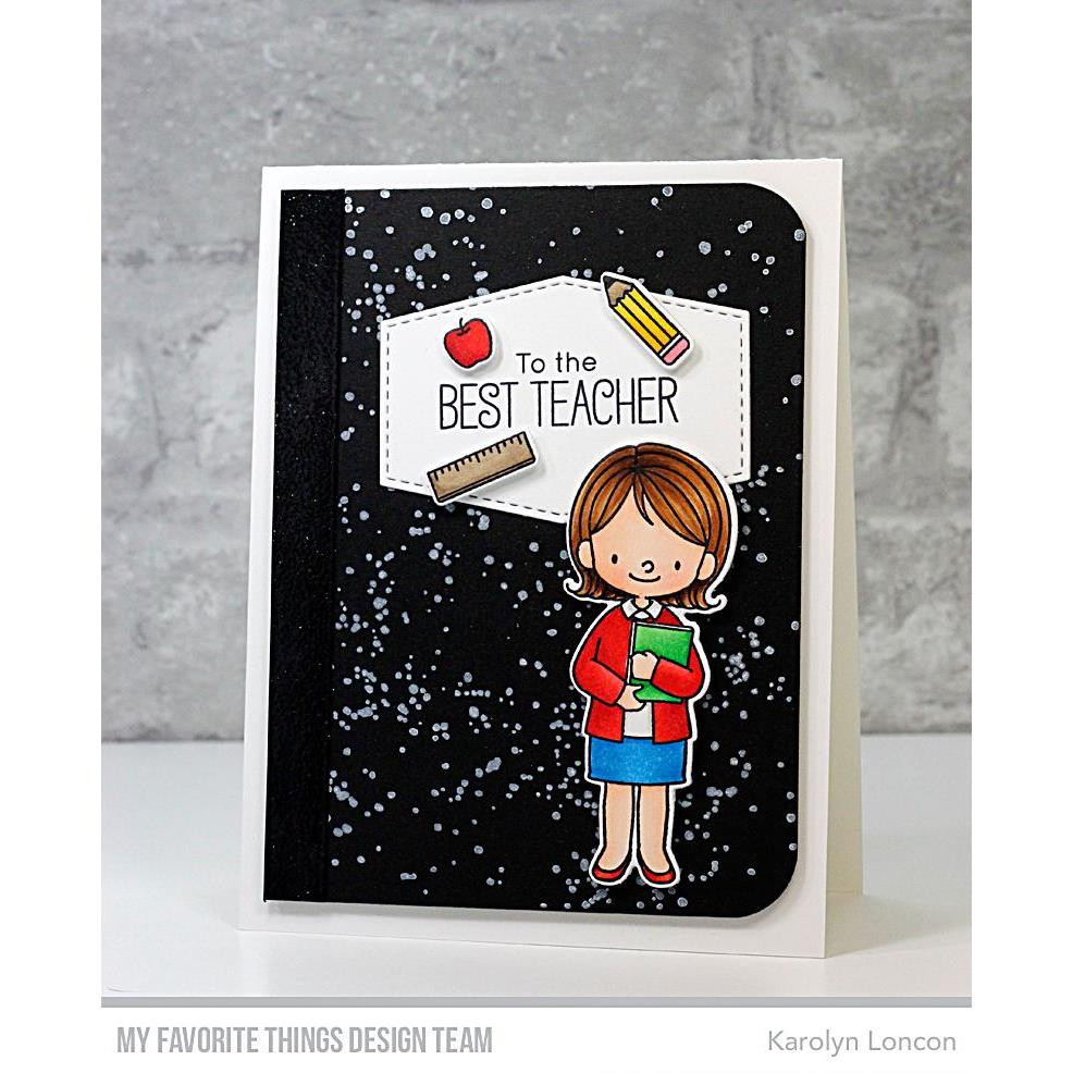 Brush Spatter Background, My Favorite Things Clear Stamps - 849923031797