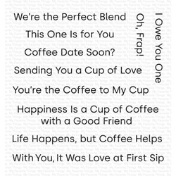 Cup Of Love, My Favorite Things Clear Stamps - 849923032060