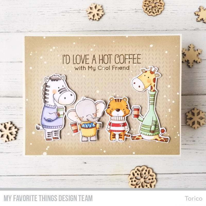 Sweater Weather On Safari By Birdie Brown, My Favorite Things Clear Stamps - 849923032015