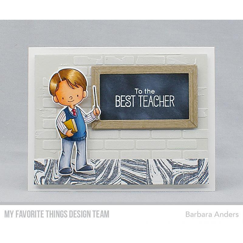 Favorite Teacher By Birdie Brown, My Favorite Things Die-Namics - 849923032213