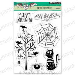 Spooktacular, Penny Black Clear Stamps - 759668305964