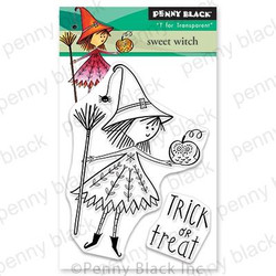Sweet Witch, Penny Black Clear Stamps - 759668305971