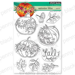 Autumn Bliss, Penny Black Clear Stamps - 759668306008
