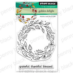 Golden Delight, Penny Black Clear Stamps - 759668306015