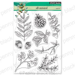 All Natural, Penny Black Clear Stamps - 759668306022