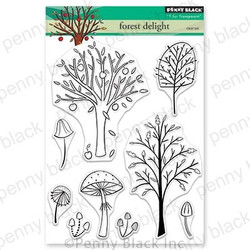 Forest Delight, Penny Black Clear Stamps - 759668306039
