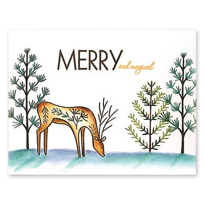 Oh Deer, Penny Black Clear Stamps - 759668306114