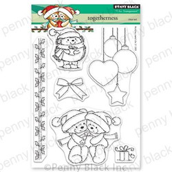 Togetherness, Penny Black Clear Stamps - 759668306152
