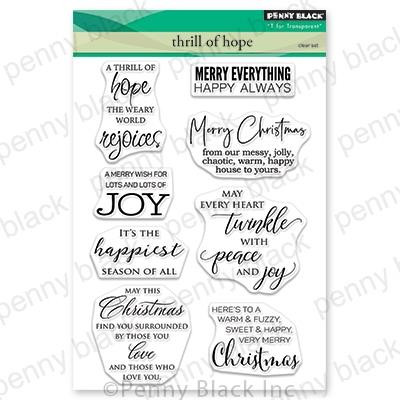 Thrill Of Hope, Penny Black Clear Stamps - 759668306169