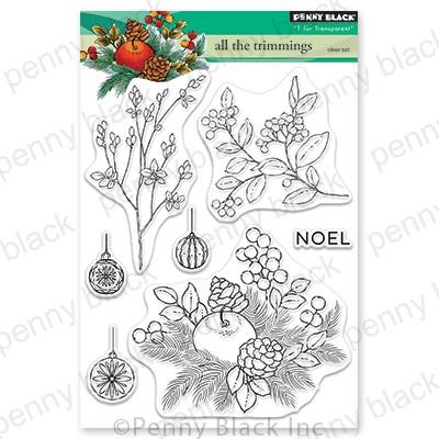 All The Trimmings, Penny Black Clear Stamps - 759668306183