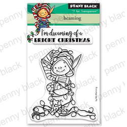 Beaming, Penny Black Clear Stamps - 759668306237