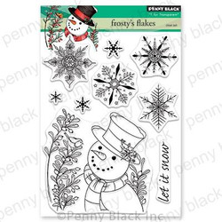 Frosty's Flakes, Penny Black Clear Stamps - 759668306244