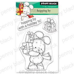 Hopping By, Penny Black Clear Stamps - 759668306268