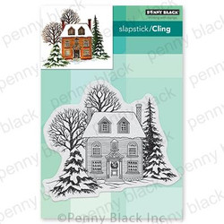 Warm Reception, Penny Black Cling Stamps - 759668407095