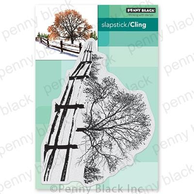 Snow Blanket, Penny Black Cling Stamps - 759668407101