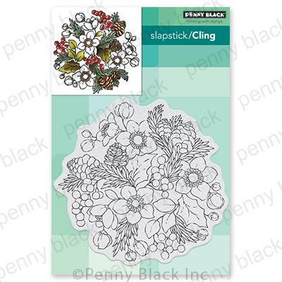Winter Garden, Penny Black Cling Stamps - 759668407118