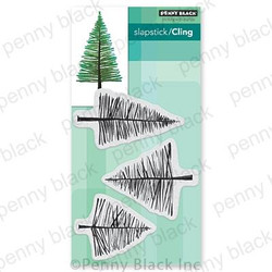 Saplings, Penny Black Cling Stamps - 759668407170